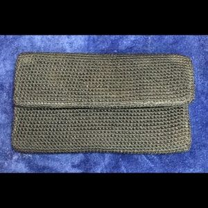 The SAK Black Tri-fold Wallet